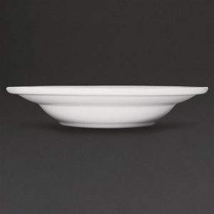 Athena Hotelware Rimmed Soup / Pasta Bowls 228mm