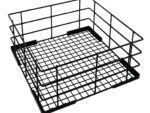 Vogue Wire High Sided Glass Basket 500mm