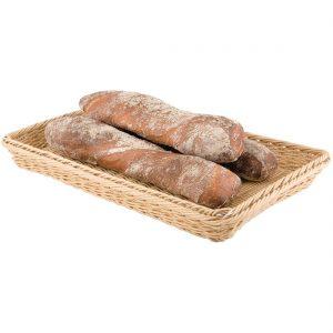 Polypropylene Natural Rattan Basket 1/1 GN
