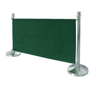 Bolero Green Canvas Barrier