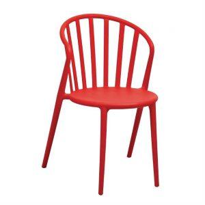 Bolero PP Armchair Red (Pack of 4)