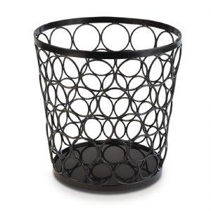 APS Plus Metal Basket Black 210 x 210mm