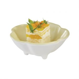 APS Fullies Footed Bowl Yellow 50ml