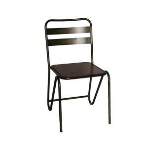 Bolero Industrial Metal Sidechair (Pack of 2)