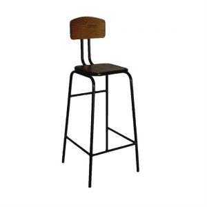 Bolero Industrial Metal Highstool (Pack of 2)