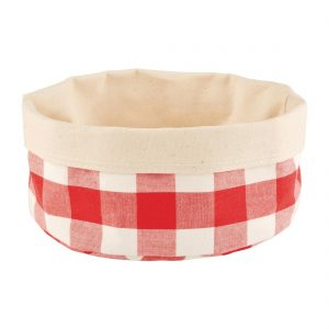 APS Bread Basket Round Small Red