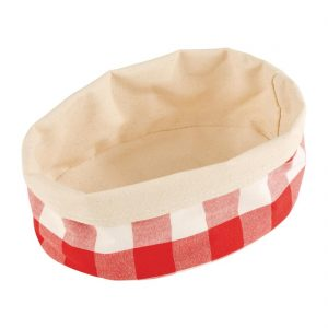 APS Bread Basket Oval Small Red