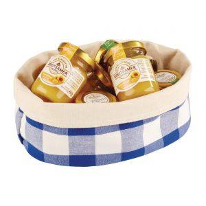 APS Bread Basket Oval Small Blue