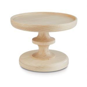 APS Plus Wood Buffet Pedestal Maple Short