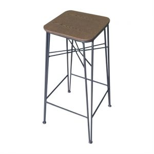 Bolero Urban Hairpin High Stool (Pack of 2)