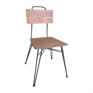 Bolero Urban Hairpin Side Chair (Pack of 2)