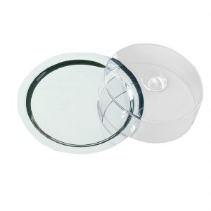 Round Tray With Cover
