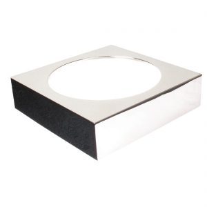 APS Frames Stainless Steel Large Square Buffet Bowl Box