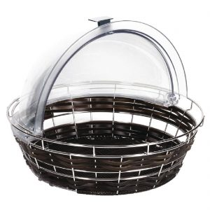 APS Frames Polyratten Round Basket with Frame