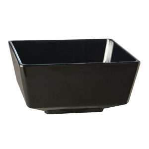 APS Float Square Dipping Bowl Black 2in