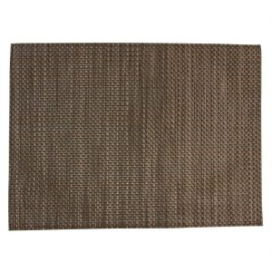 APS PVC placemat Beige And Brown