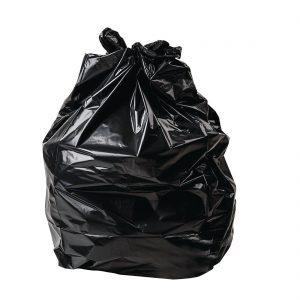 Jantex Large Black Bin Bags 60-70 Litre Pack of 200