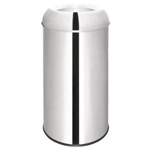 Bolero Open Lid Bullet Bin 40Ltr