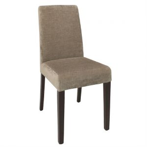 Bolero Dining Chairs Beige (Pack of 2)