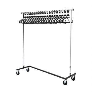Bolero Garment Rail with 20 Hangers
