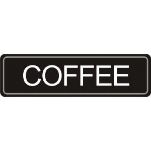 Adhesive Airpot Label - Coffee