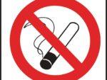 Square No Smoking Symbol Sign