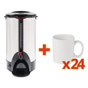 Special Offer Caterlite Water Boiler 20Ltr with 24 FREE Mugs