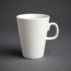 Bulk Buy Pack of 36 Athena Hotelware Latte Mugs 10oz
