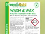 Wash & Wax - 20L